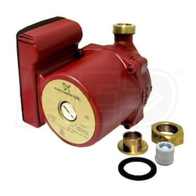 "Grundfos UP - 1/25 HP - Single-Speed Circulation Pump - Bronze - 3/4"" Sweat"