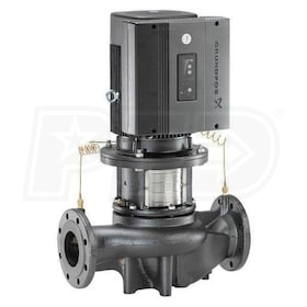 Grundfos TPE80-160/2 E-Circulator Pump, 3 HP, BUBE Seal, Cast Iron, 208-230V, GF 80 Flange Mount