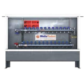 Watts Radiant HydroNex - 9 Circuits - Zone Basic Panel - With Actuators