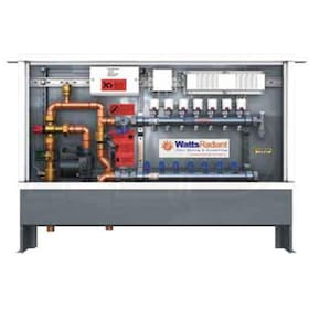 Watts Radiant HydroNex - 7 Circuits - Zone Mix Pump Panel - With Actuators - Watts Radiant 1558 Circulator