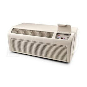Amana 14,000 BTU Capacity - Packaged Terminal Air Conditioner (PTAC) - Heat Pump - 5 kW Electric Heat - 208-230 Volt