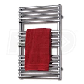"Runtal Neptune - 1,536 BTU - Electric Towel Warmer - 37.4"" H - 19.5"" W - 4.2"" D - Plug-In - Integrated Control"