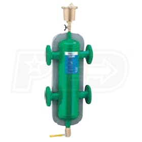 "Caleffi Series 548 Hydronic Separator, 4"" Flanged Connections"