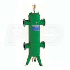 "Caleffi Series 548 Hydronic Separator, 4"" Flanged Connections, ASME & CRN Certified"