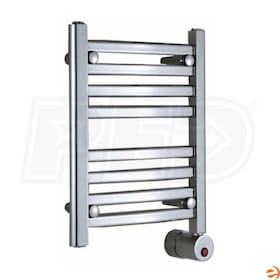 "Mr. Steam W216 Wall Mounted Electric Towel Warmer, White, 20""H x 16""W x 4-3/8""D - 100W, 340 BTU"