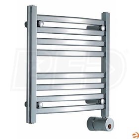 "Mr. Steam W219 Wall Mounted Electric Towel Warmer, Oil Rubbed Bronze, 20""H x 20""W x 4-1/4""D - 200W, 680 BTU"