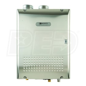 Noritz NCC1991 - 6.2 GPM at 60° F Rise - 94% Eff. - Propane Tankless Water Heater - Direct Vent