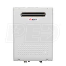Noritz NRC1111 - 6.2 GPM at 60° F Rise - 0.91 EF - Propane Tankless Water Heater - Outdoor