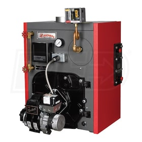 Crown Boiler KSZ075 - 68K BTU - 84.5% AFUE - Steam Oil Boiler - Chimney Vent