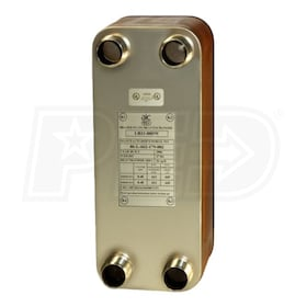 AIC Alliance LB31-080XJ, Brazed Flat Plate to Plate Heat Exchanger- Single Wall