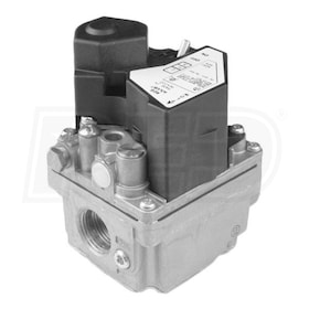 "White Rodgers 36J24-214 Slow Opening Combination Gas Control Valve, 1 Stage, 1/2"" x 1/2"" Connections - 226,800 BTU"