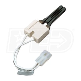 "White Rodgers 767A-366 Silicon Carbide Hot Surface Ignitor, used with 15,17 or 45 second HIS Systems, 5.3"" Lead"
