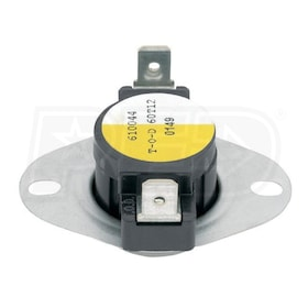White Rodgers 3L01-120 Snap Disc Limit Controls, 110 F Cut-in/120 F Cut-out, Open on Rise