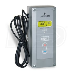 White Rodgers 1609-104 Refrigeration Temperature Control, Close on Rise, -30 to 90 F Range