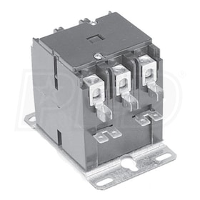 White Rodgers 90-172 Three Pole Definite Purpose Contactor, 40 A, 208/240 VAC