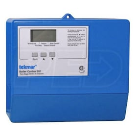 Tekmar 261 - Boiler Control - Outdoor Temp. Reset - Two Stage - Setpoint