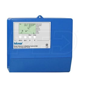 Tekmar 664 - Snow Detector & Melting Control - Outdoor Temp. Reset - Two Zone - Two Stage Boiler - Mixing