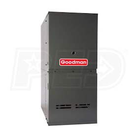 Goodman GDS8 - 60,000 BTU - Gas-Fired Furnace - NG - 80% AFUE - Single-Stage - Downflow - Multi-Speed