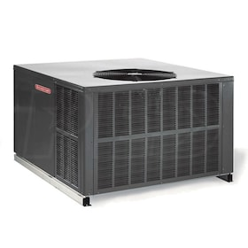 Goodman GPG16M - 3 Ton Cooling - 80,000 BTU/Hr Heating - Packaged Gas/Electric Central Air System - 16 SEER - 81% AFUE - 208-230/1/60