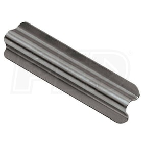 "Schluter RONDEC - Connector - For 3/8"" Thick Tile - Brushed Stainless Steel"