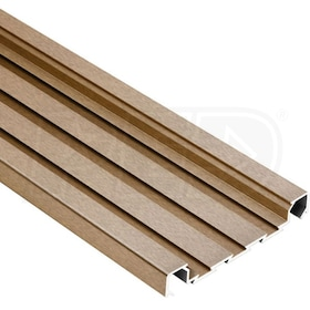 "Schluter QUADEC-FS - Feature Strip Profile - For 5/16"" Thick Tile - 8' 2-1/2"" Length - Antique Bronze Anodized Aluminum"