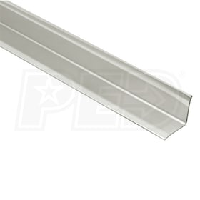 "Schluter ECK-KI - Edging Profile - 4' 11"" Length - Brushed Stainless Steel"