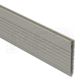 "Schluter DILEX-MOP -Screed Joint Profile - 1-3/8"" Height - 8' 2-1/2"" Length - Grey PVC"