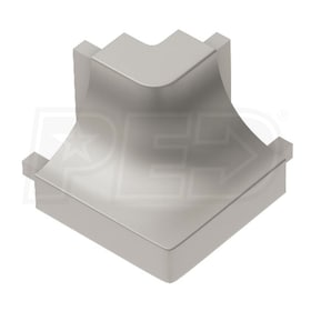 Schluter DILEX-AHK - 90 Degree Outside Corner - Satin Nickel Anodized Aluminum