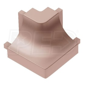 Schluter DILEX-AHK - 90 Degree Outside Corner - Satin Copper Anodized Aluminum