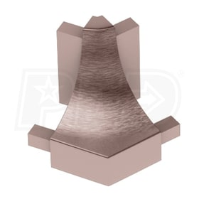 Schluter DILEX-AHK - 135 Degree Outside Corner - Brushed Bronze Anodized Aluminum