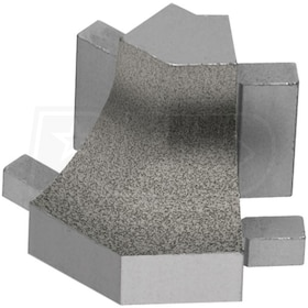 Schluter DILEX-AHK - 135 Degree Outside Corner - Tuscan Pewter Coated Aluminum