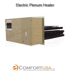 "Electro Industries EM-WU204D5-SL2, WarmFlo Four Stage Electric Plenum Duct Heater-15"" Upflow,20 kW"