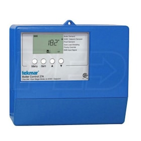 Tekmar 274 - Boiler Control - tN4 Compatible - Outdoor Temp. Reset - Four Stage - DHW/Setpoint