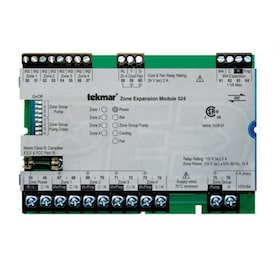 Tekmar 324 - Zone Expansion Module - tN2/tN4 Compatible - Four Zones - Cooling and Fan