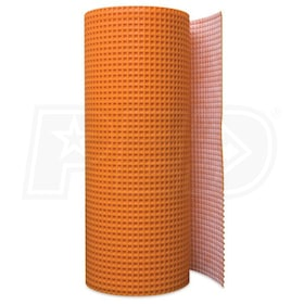 "Schluter DITRA - 3' 3"" x 98' 5"" - Uncoupling Membrane - 1/8"" Height"