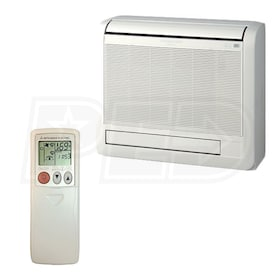 Mitsubishi M-Series - 18,000 BTU - Mini Split Indoor Unit - Floor Mount - Heat Pump
