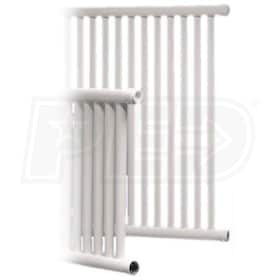 SteamRadiators Steamview - 7,106 BTU - Steam Radiator - 24'' H x 48'' W