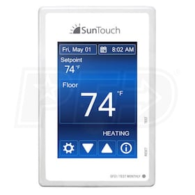 SunTouch SunStat Command - Programmable  Thermostat - Touch Screen