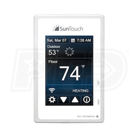 SunTouch SunStat Connect - Programmable Thermostat - Touch Screen + Wi-Fi