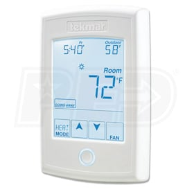 tekmar tekmarNet - 554 - Thermostat - 7-Day Programmable - 1H/1C - Touchscreen