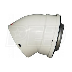 Rinnai 45-Degree Elbow (Qty of 2) - Plastic