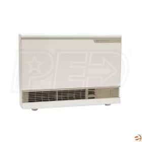 Rinnai EnergySaver ES38W Gas Fired Direct Vent Wall Furnace, LP, White - 36,500 BTU