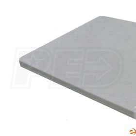 "Thermo 33""x33""x2"" Outdoor Condenser Plastic Pad"