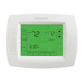 Honeywell TH8110U1003 VisionPRO 8000 Touchscreen 7-Day Programmable Thermostat, Single Stage