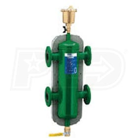 "Caleffi 3-in-1 Hydro, Air and Dirt Separator, 6"" Flanged Connections - ASME/CRN Certified, without insulation"