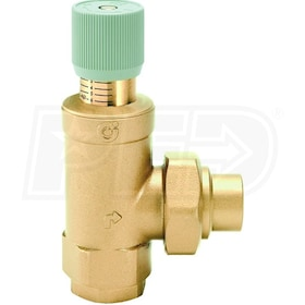 "Caleffi Differential Pressure By-pass Valve, 3/4"" NPT Inlet with 3/4"" NPT Outlet"