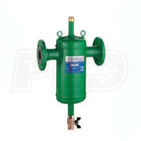 "Caleffi DirtCal Dirt Separator, 6"" ANSI Flange Connections, ASME & CRN Certified"