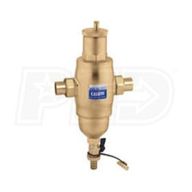 "Caleffi Air & Dirt Separator, 1"" NPT Male Union Connections"