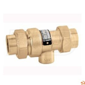 "Caleffi Dual Check Continuous Pressure Backflow Preventer with Atmospheric Vent, 1/2"" Sweat Inlet x 1/2"" FNPT Outlet"