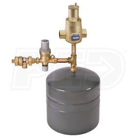"Caleffi Boiler Trim Kit, 3/4"" Sweat Connections w/BackFlow Preventer & 2.2 gal Expansion Tank"